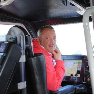 me in the portpatrick lifeboat