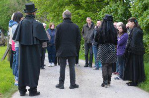 1 a 1 a mostly ghostly Lochmaben Tour Guests2