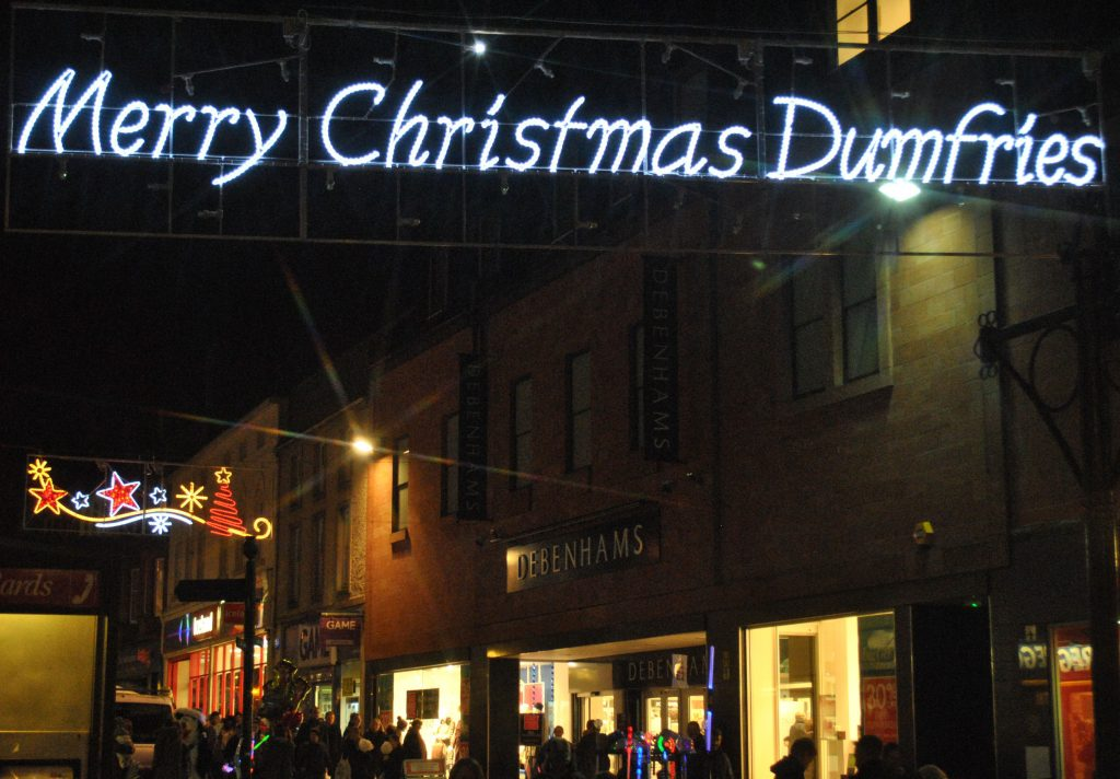 This year promises to be even better, with a portable Slide, Ice Rink and  various funfair rides descending upon Dumfries High Street, Queensberry  Square and ... - TOWN CENTRE GETS SET FOR CHRISTMAS Alive 107.3fm