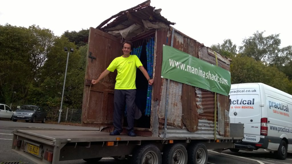 Man In A Shack Is In Dumfries And Galloway Dgwgo
