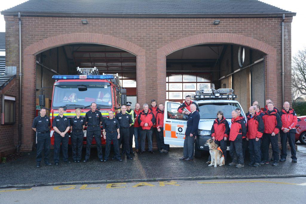 Galloway Mountain Rescue Team Receive Keys To Brand New