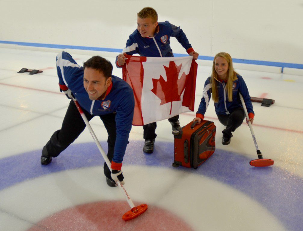 Lockerbie Curling Star And Family Launch The Matt Murdoch