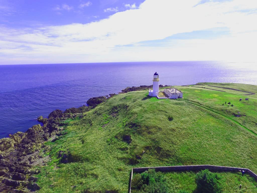 29 Acre Island Paradise Up For Sale In South West Scotland