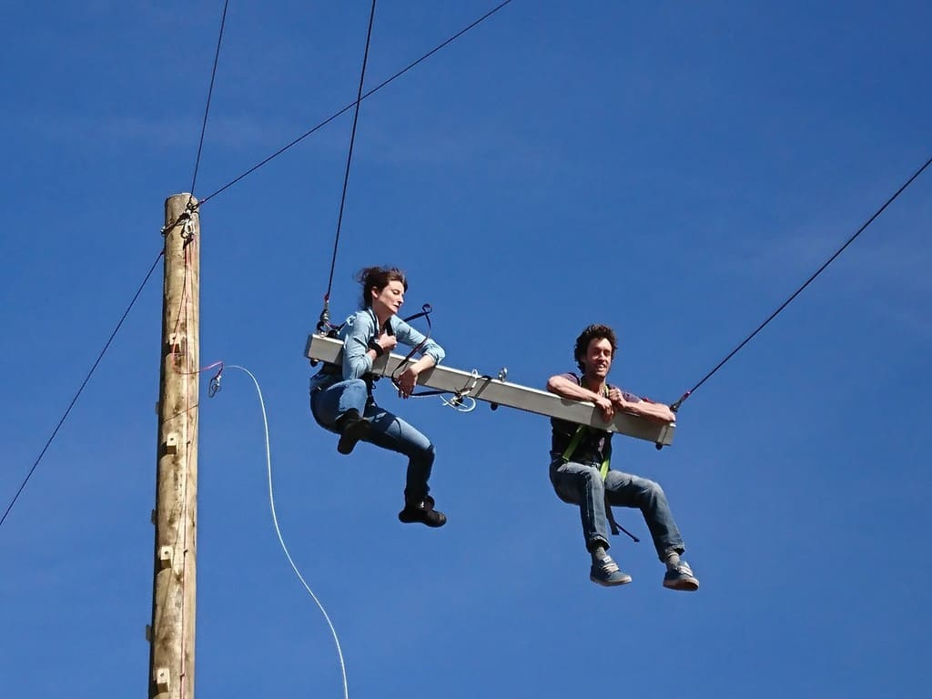 Scotland S Highest 3d Giant Swing Officially Opens This
