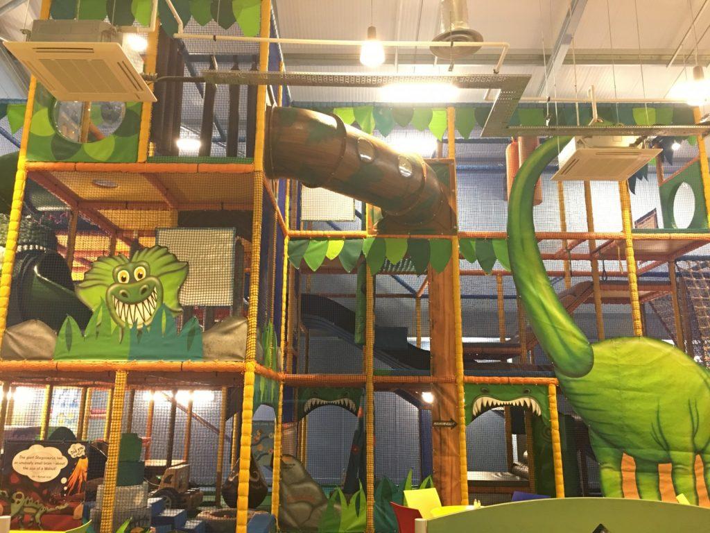Dino Soft Play Area Opens at Hetland Garden Centre - DGWGO