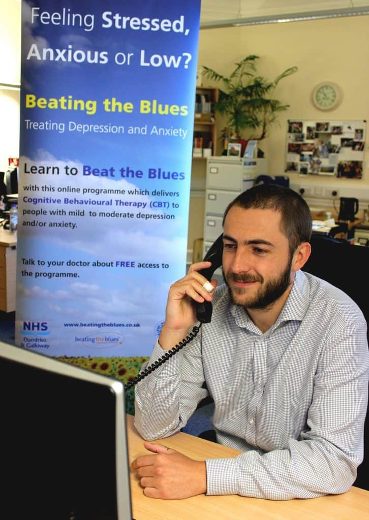 Beating the Blues' An Online Service for Mild to Moderate