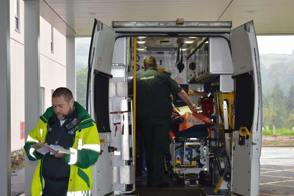 Nhs Test Run Patient Transfer To New Dgri Hospital Dgwgo