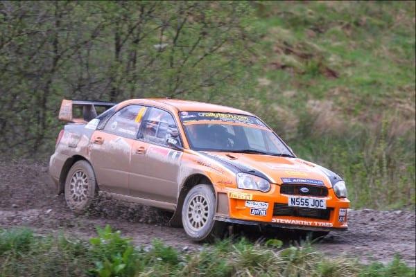 Scottish Rally Launches