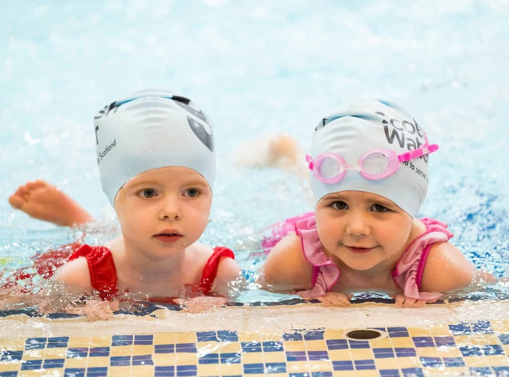 Dumfries and galloway pre schoolers take the plunge to - Swimming pools in dumfries and galloway ...