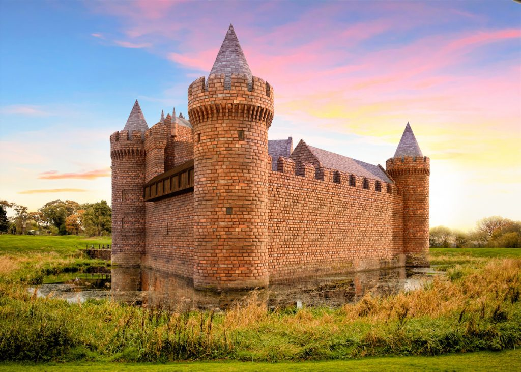 Caerlaverock Castle Reconstructed in Virtual Video