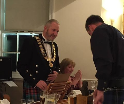 NEWTON STEWART BURNS CLUB CELEBRATES 10th ANNIVERSARY