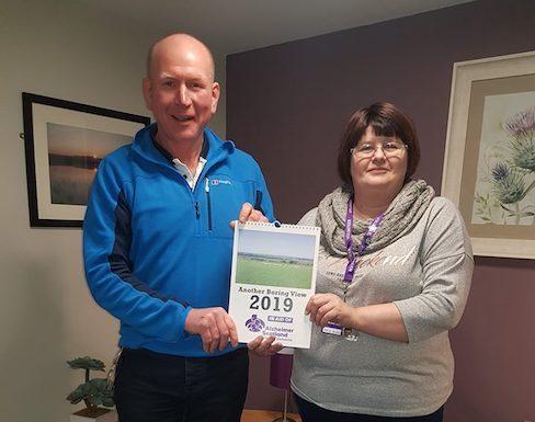 Calendar Raises £1600 Alzheimer Scotland