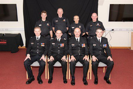 firefighters staff recognised