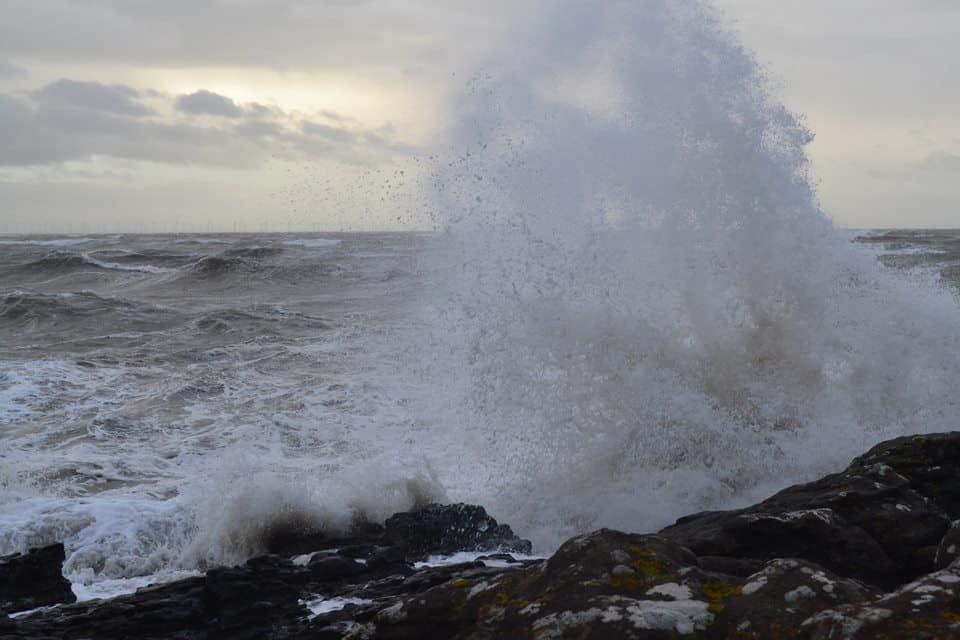 COASTAL AREAS WARNED Wind
