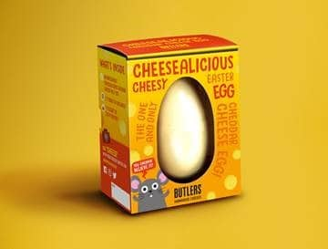 CHEESE EASTER EGG SAINSBURY's