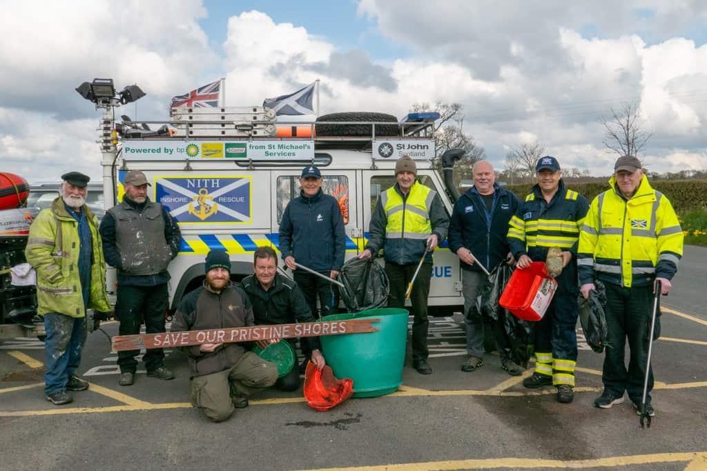 Glencaple Annual Shore Clean Up