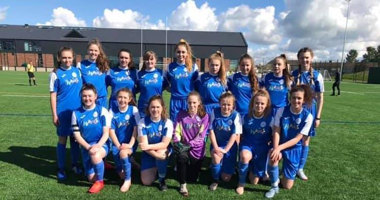 Kilmarnock Win Queen South Ladies u15