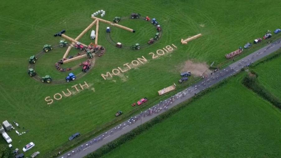 Tour of Britain National Land Art competition