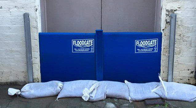 FLOOD WARNING ISSUED WHITESANDS DUMFRIES 31/08/19