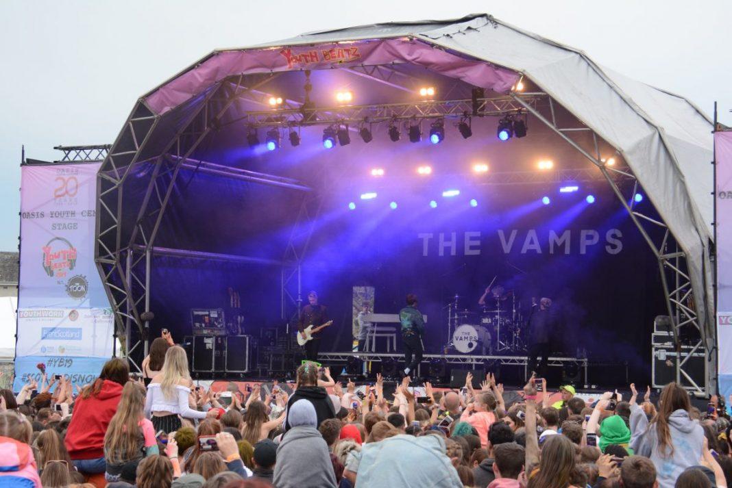 YOUTH BEATZ VOLUNTEERS PRAISED AS EVENT BRINGS £564k INTO LOCAL ECONOMY