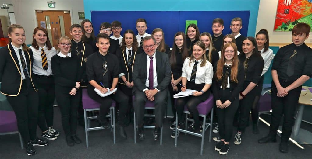MP gives Annan pupils Westminster insight