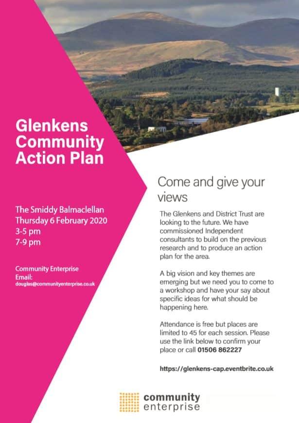 Glenkens District Trust Community Action Plan