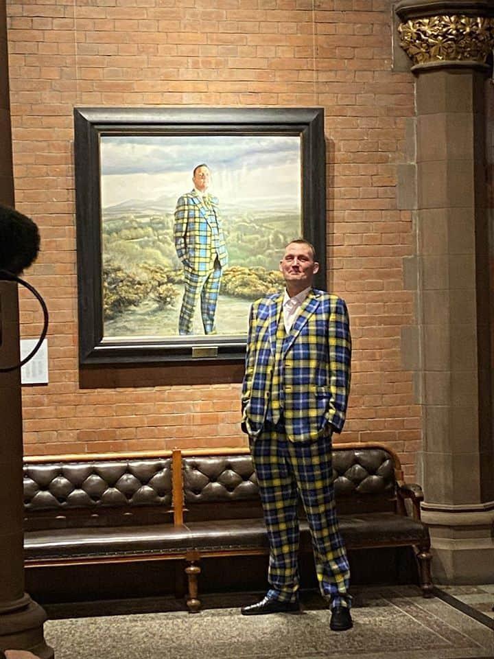 Doddie Weir Portrait Scottish National Portrait Gallery