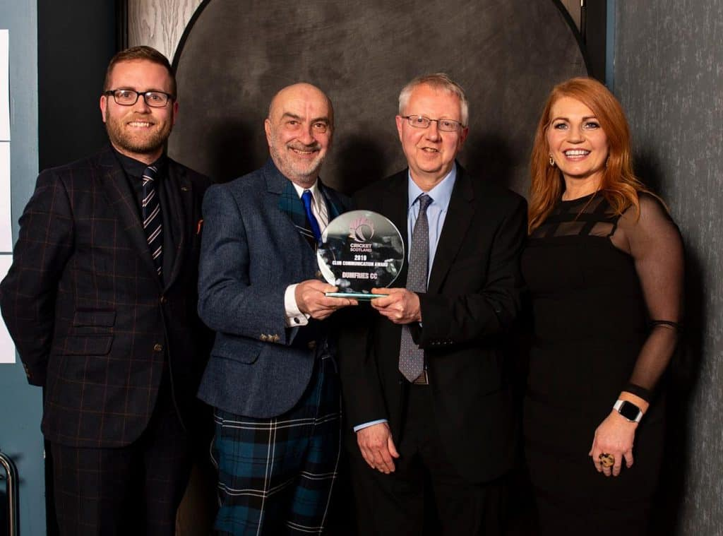 Scotland Award for Dumfries Cricket Club