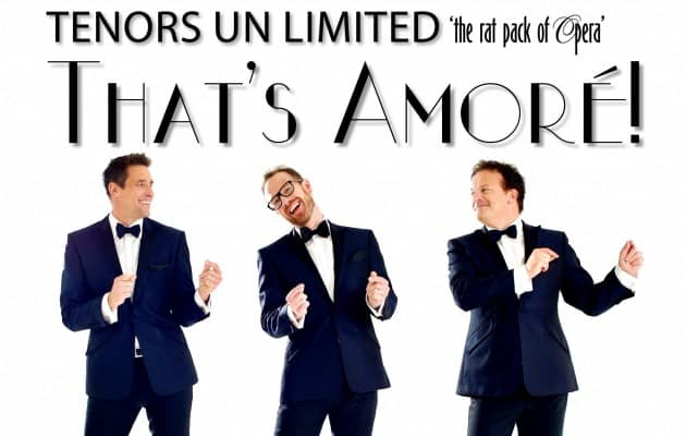 TENORS UNLIMITED Theatre Royal, Dumfries
