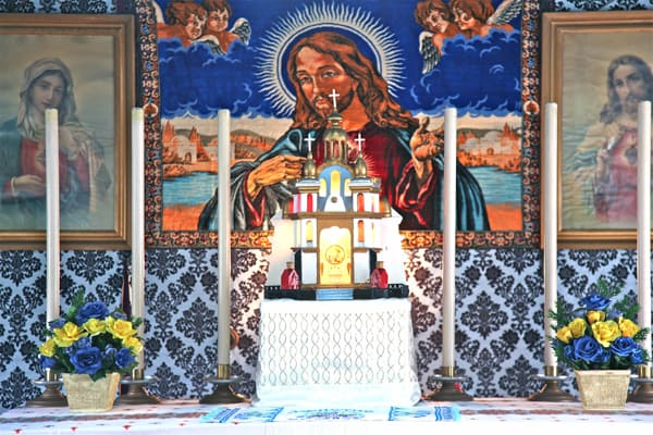 Efforts stepped up to preserve unique Ukrainian chapel Near Lockerbie