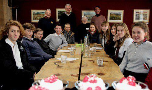 Norwegian Exchange Students Kirkcudbright