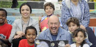 Big DoG Bounds into D&G with his Latest Fabulous Children's Book Festival