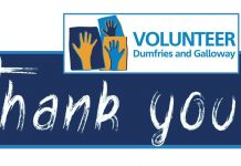 Third Sector Dumfries and Galloway is sending out a huge thank you to the region's residents with more than 800 signed up so far to an appeal for volunteers.