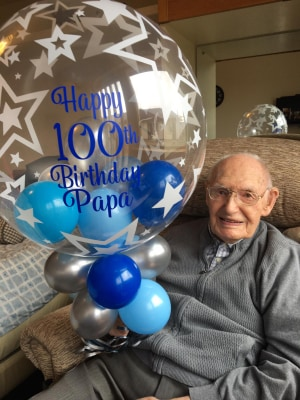 Lockerbie Care Home Residents Help Johnston Celebrate 100th Birthday In Style