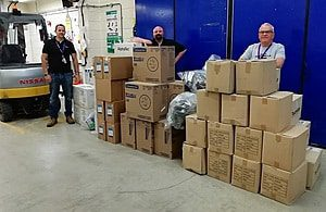130,000 items of PPE donated to support coronavirus effort
