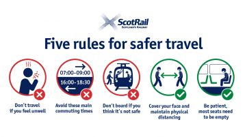 ScotRail thanks customers for following safety guidance