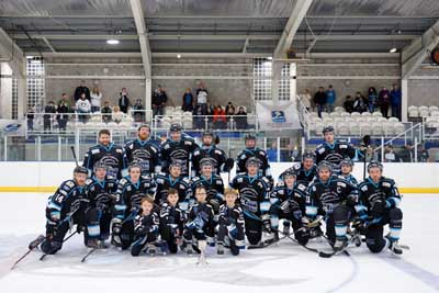 SHARKS PREPARE TO RETURN TO THE ICE