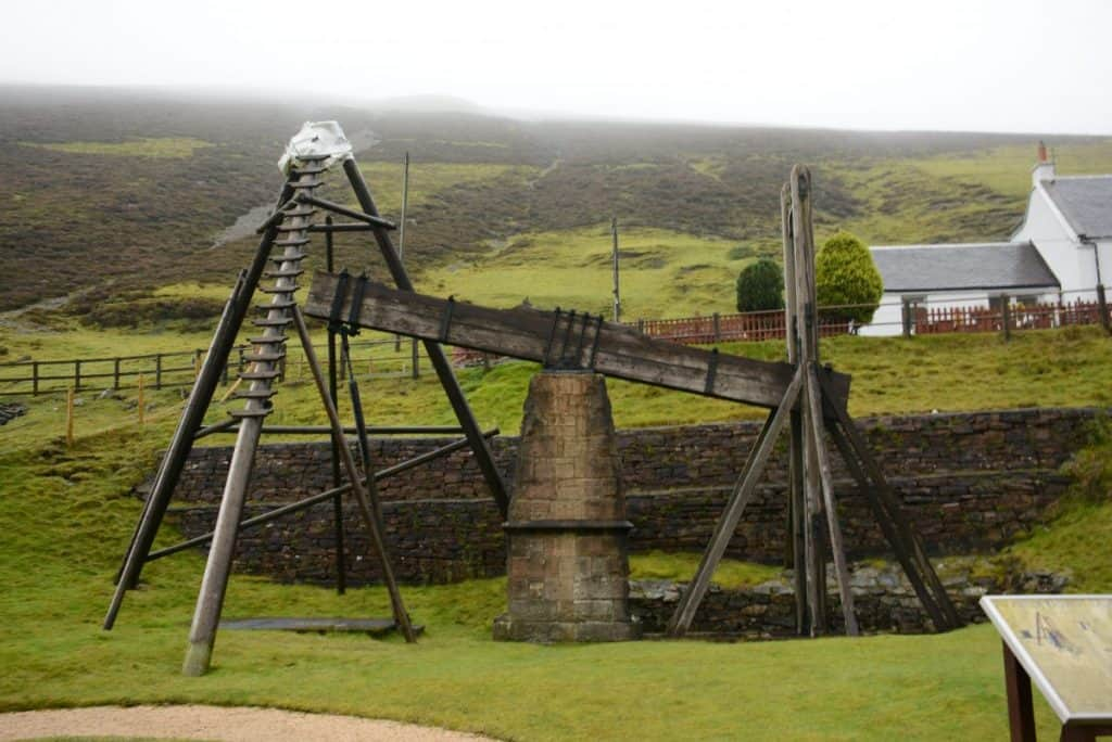 Wanlockhead Beam Engine - credit DGWGO