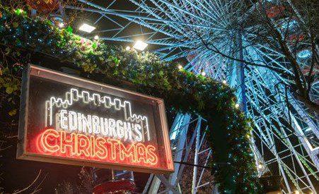 EDINBURGH'S CHRISTMAS FESTIVALS CANCELLED (COVID-19)