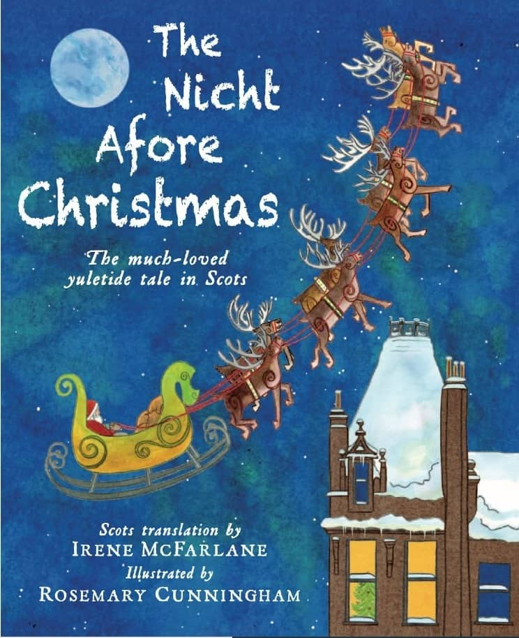 New Scots Childrens Book Tells The tale Of 'Twis the nicht afore Christmas'