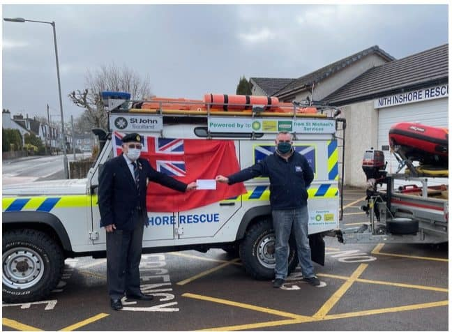 Merchant Navy Association Dumfries Branch supports Nith Inshore Rescue