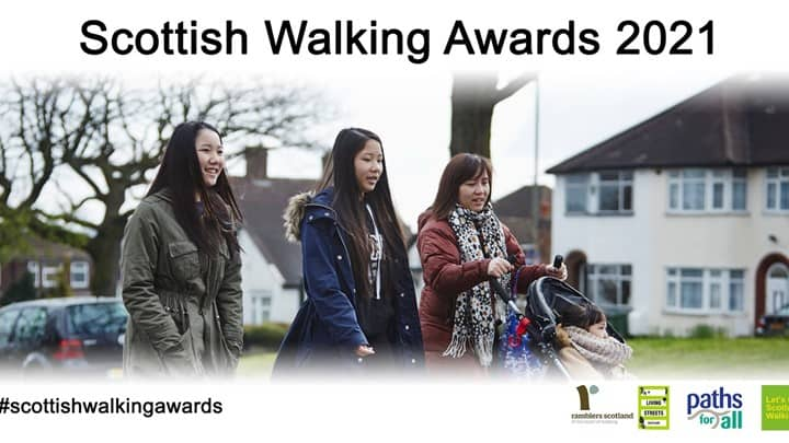 Charities come together to launch Scottish Walking Awards