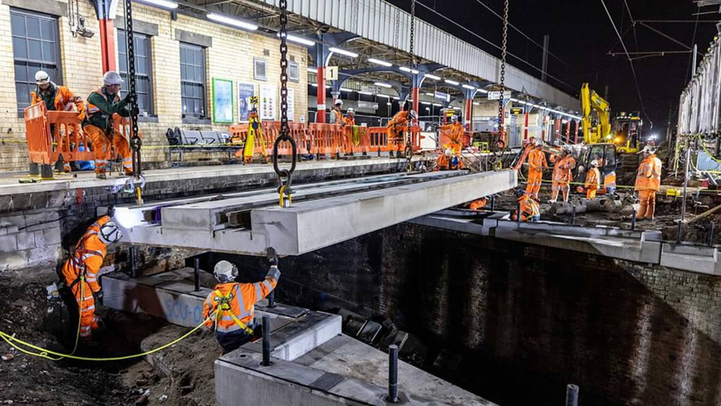£31m Easter rail upgrades complete between London and Scotland