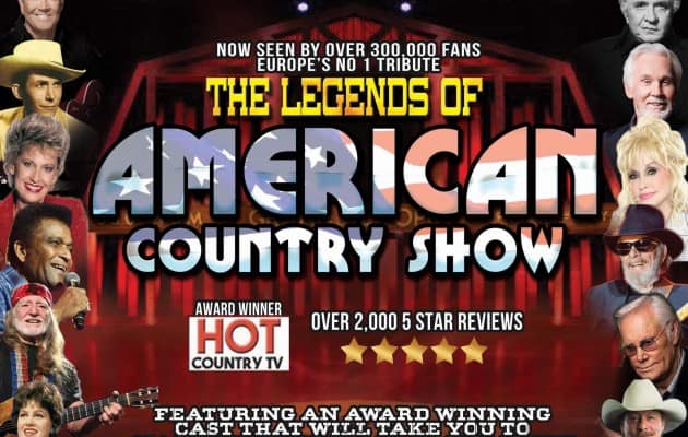 LEGENDS OF AMERICAN COUNTRY SHOW RETURNS TO SCOTLANDS OLDEST WORKING THEATRE