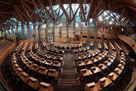 Alison Johnstone MSP elected as the Scottish Parliament's Sixth Presiding Officer