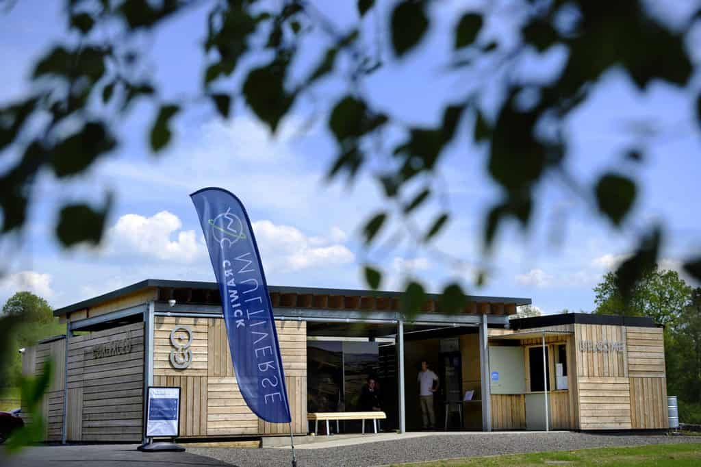 Crawick Multiverse is looking ahead to a new era following the official opening of The Coalface – its specially designed eco-friendly visitor facilities.
