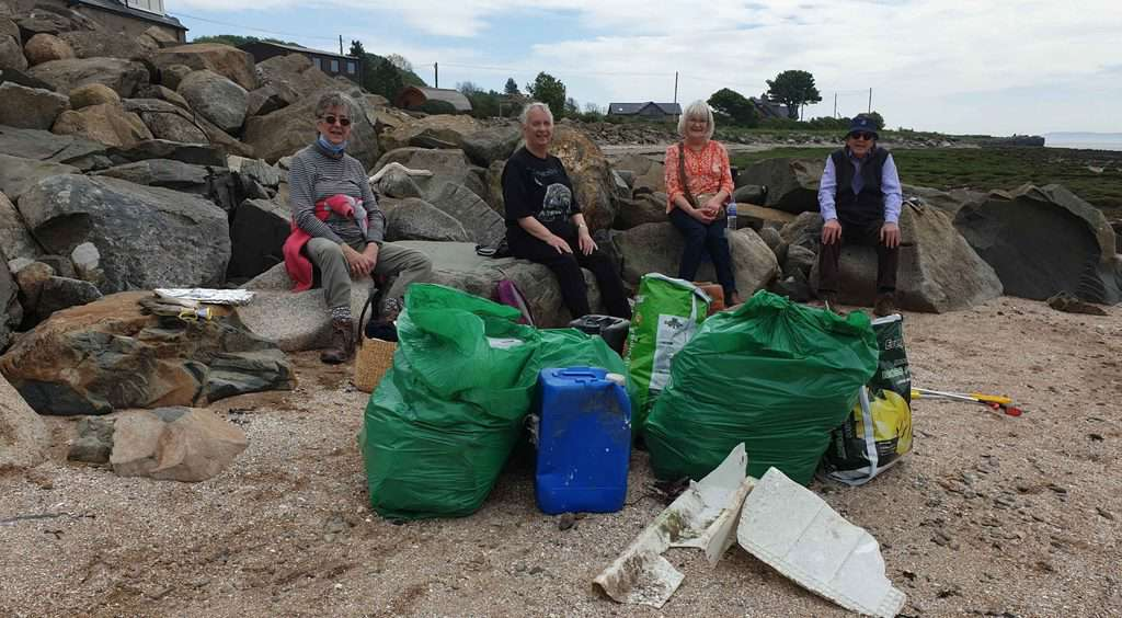 Wigtownshire u3a's eco-warriors hit the beaches