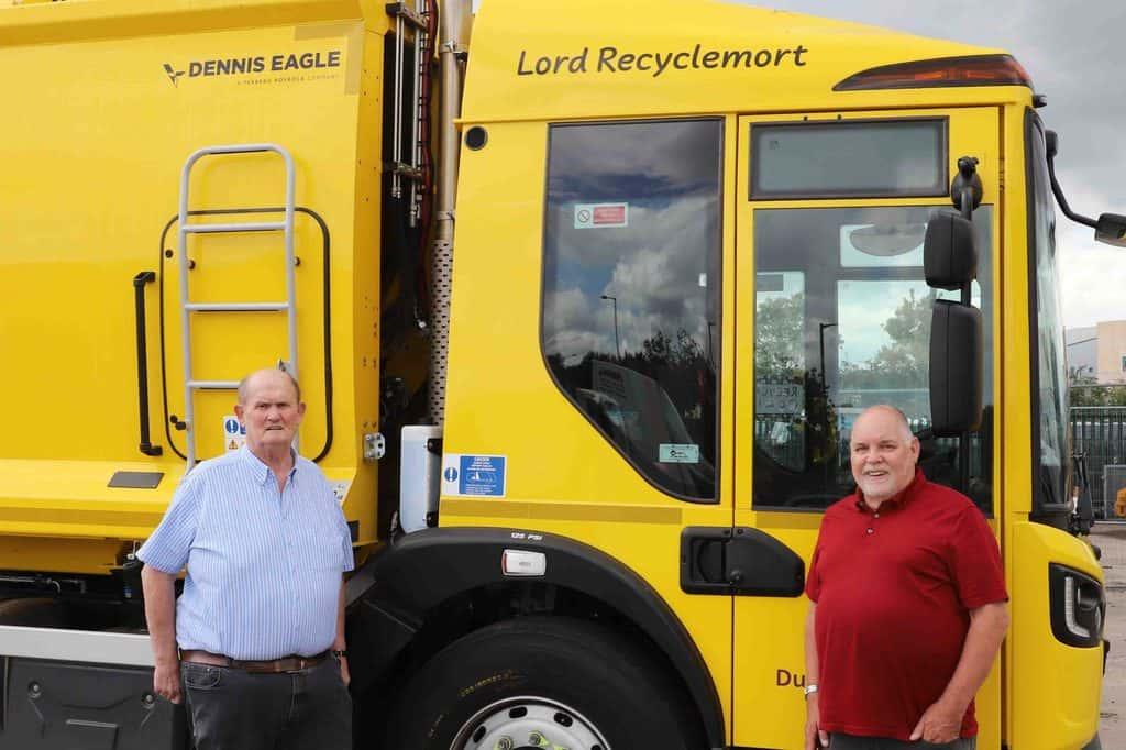 Bin Lorries Receive Celeb Status in D&G