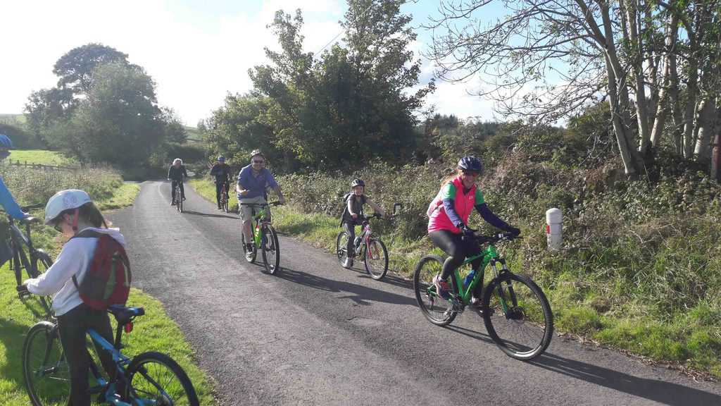 Cycling Dumfries back in the saddle for Summer Rides