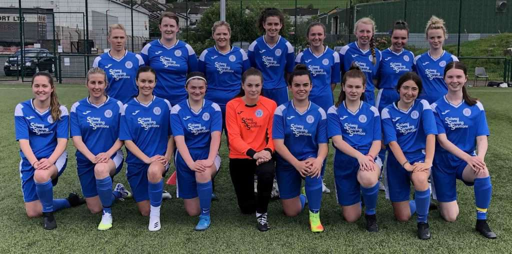 QUEENS LADIES GIVE CONFIDENT PERFORMANCE WITH WIN AGAINST MID ANNANDALE